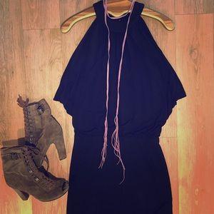 INC black mini dress